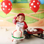 Corbin's Cake Smash | Cake Smash Photographer in Riverside, CA